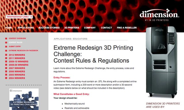 Extreme Redesign 3D Challenge