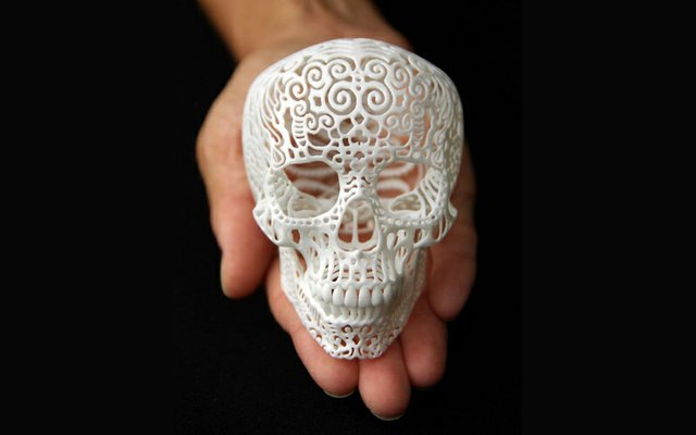 Jashua Harker Skull Print