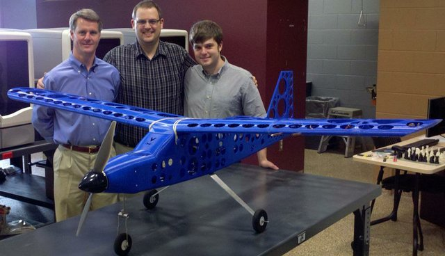 University of Virginia 3D printed plane