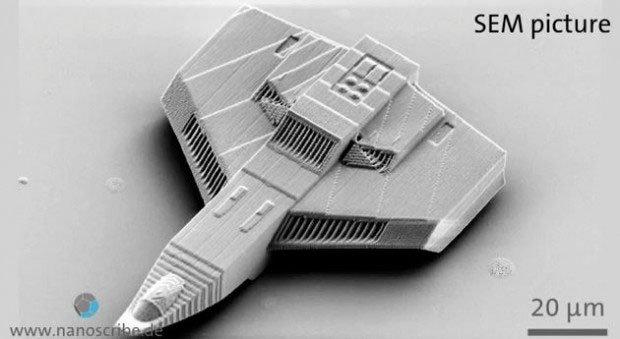 Nanoscribe's Nano Hellcat