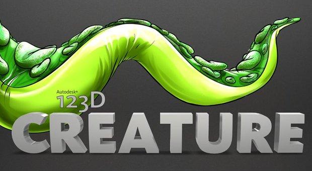 Autodesk 123D Creature