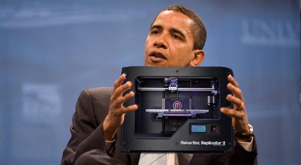 Obama's makerbot