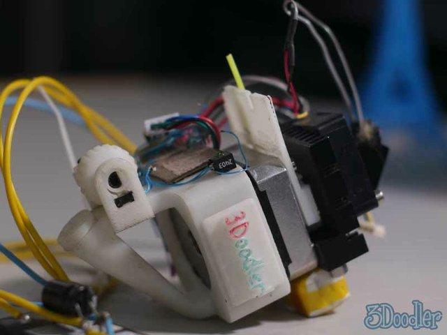 3Doodler's original mechanism