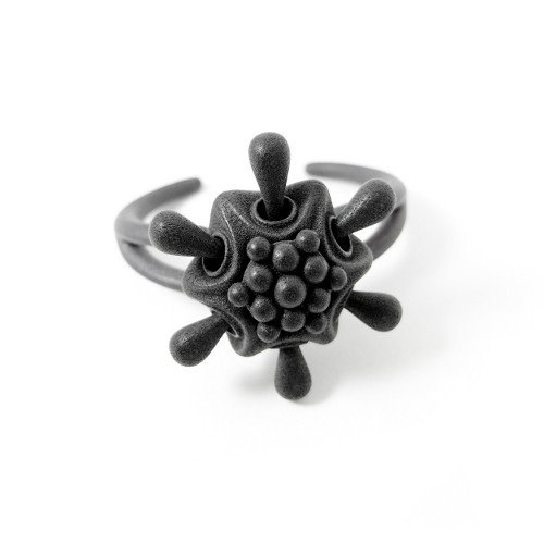 Squeeze Cuff with pollen charm.