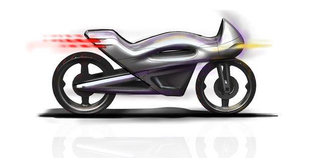 Concept bike sketch