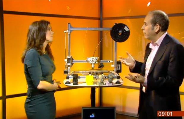 BBC Breakfast 3D Printing