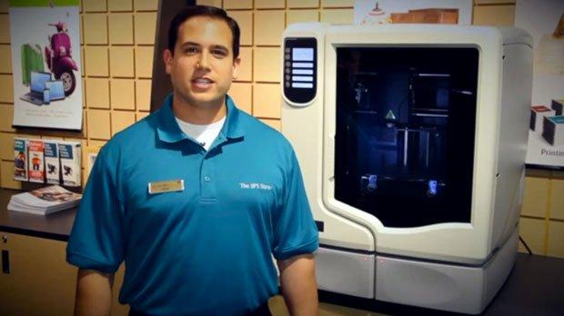 UPS offer 3D Printing