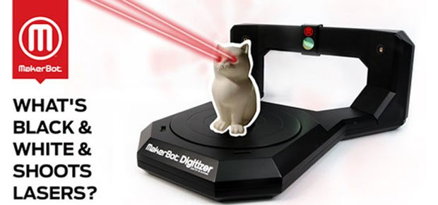 MakerBot Digitizer teaser