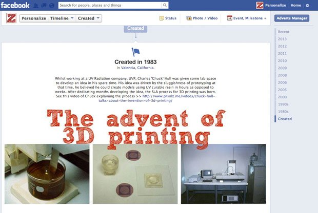The Personalize History of 3D Printing