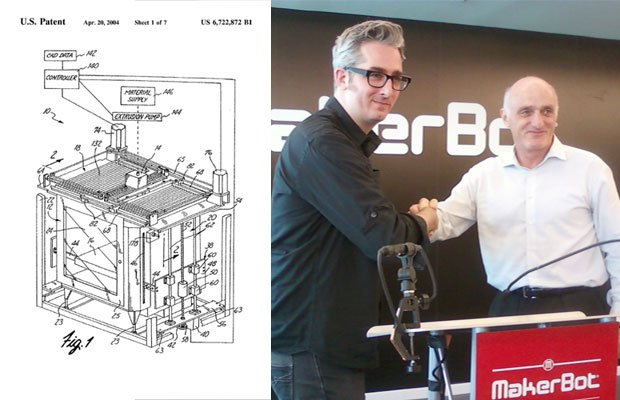 MakerBot could benefit from patents owned by Stratasys