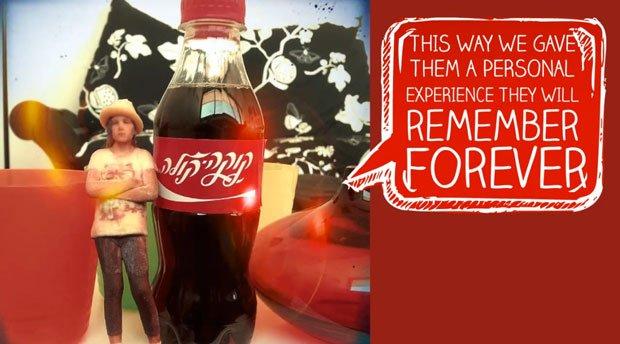 Coca-Cola's Mini Me Campaign