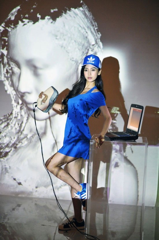 AngelaBaby being scanned