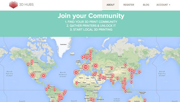 3D Hubs Unlock your city
