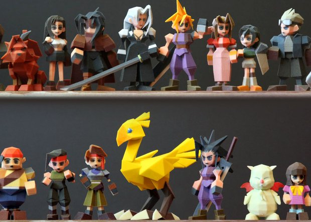 Final Fantasy figurines