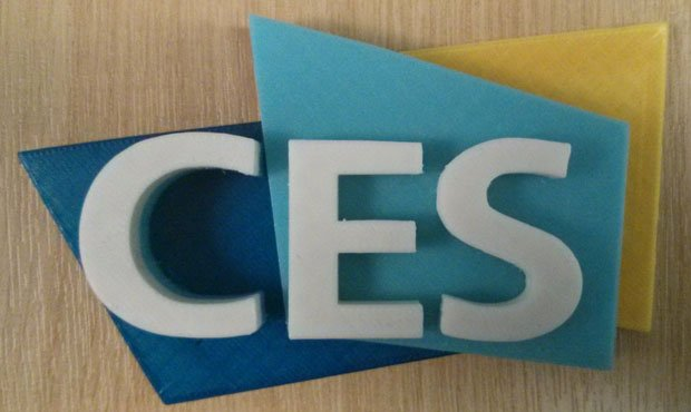 CES Logo 3D Printed by RichRap