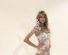 Lindsay Ellingson in her complete Snow Queen Costume