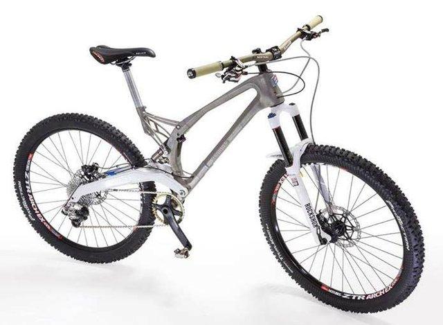 The bike frame