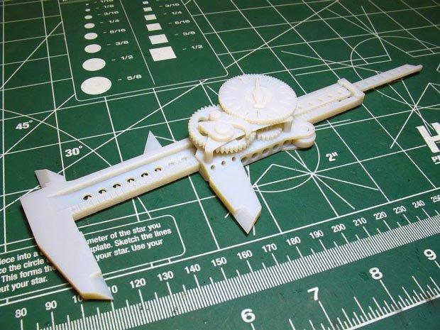 The 3D Printed Calliper