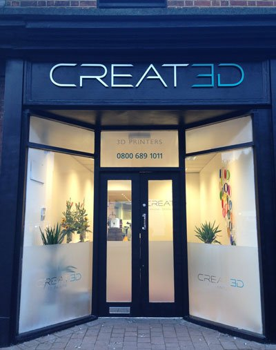 CREAT3D Showroom