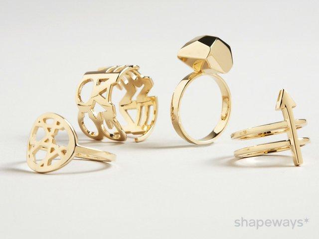 Shapeways Gold