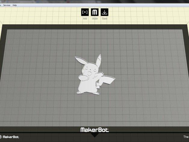 Pikachu cookie cutter