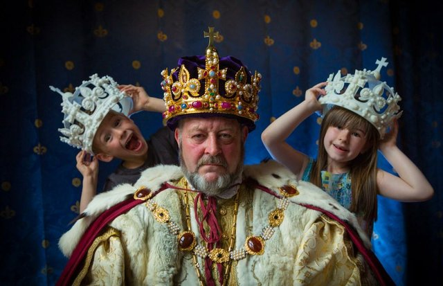 King Henry the Eight-year-old