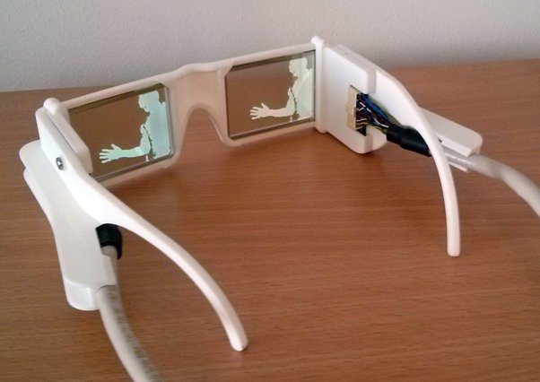 Glasses for the visually impaired