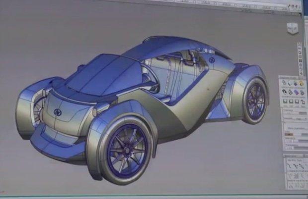 Local Motors 3D Printed Car