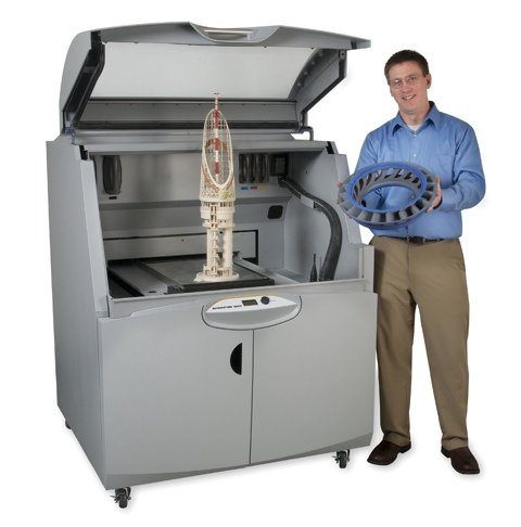 ZPrinter 850 and large parts