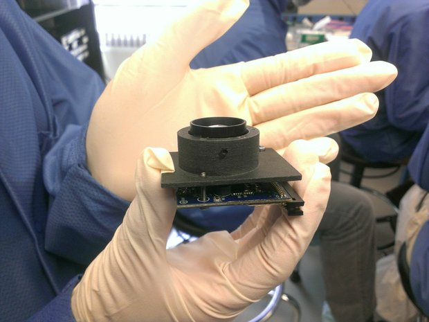 Windform 3D-printed Camera Structure_KySat2