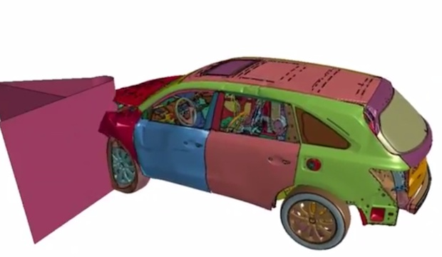 Honda pioneers 3DXCITE 3D software for crash testing - TCT Magazine