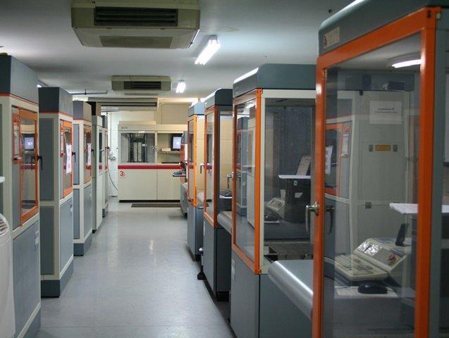 ARRK prototyping facility SLA room