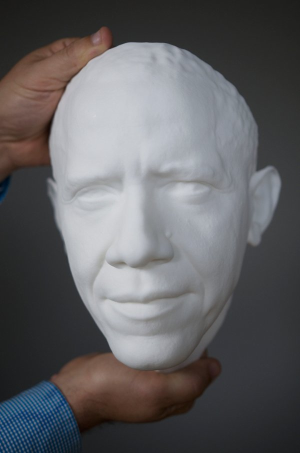 Obama life mask