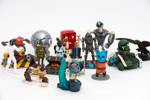 All the 3D Print Cup entrants