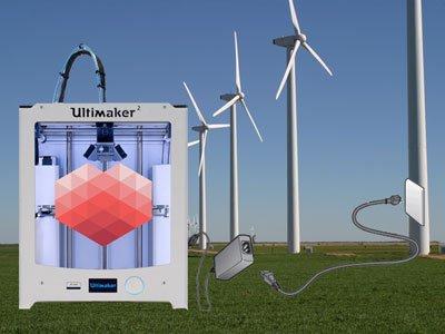 3D Hubs windmills