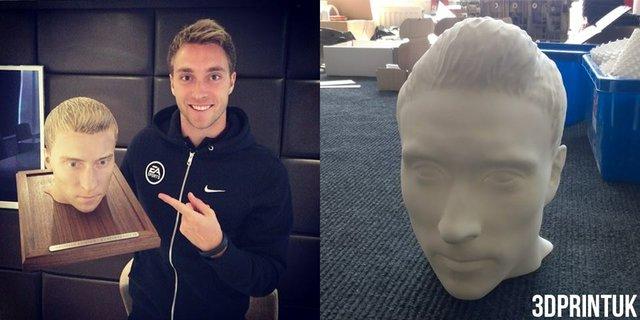 Christian Eriksen 3D Print