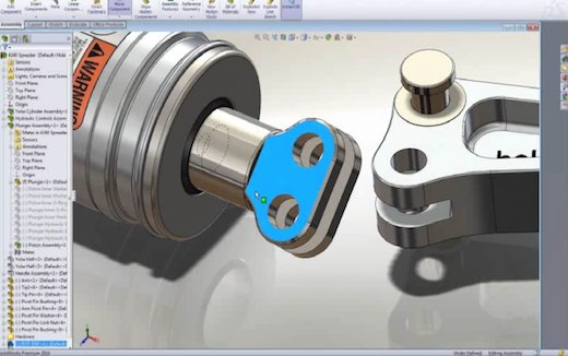 SolidWorks CAD Software