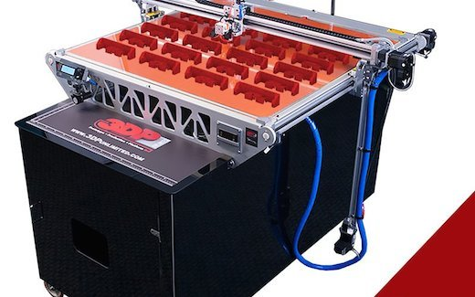 3DP1000 will be printing live at TCT Show 2014.
