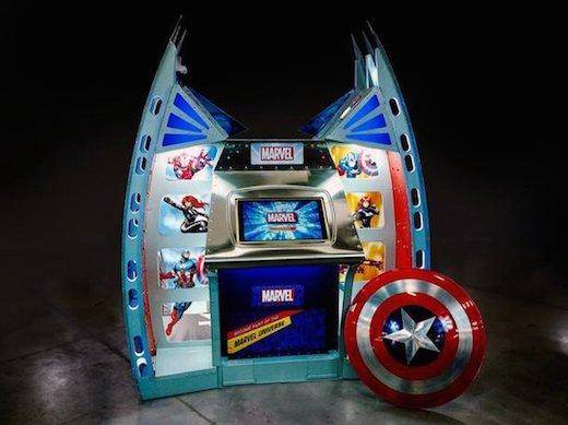 3DPlusMe's original Marvel 3D printing station