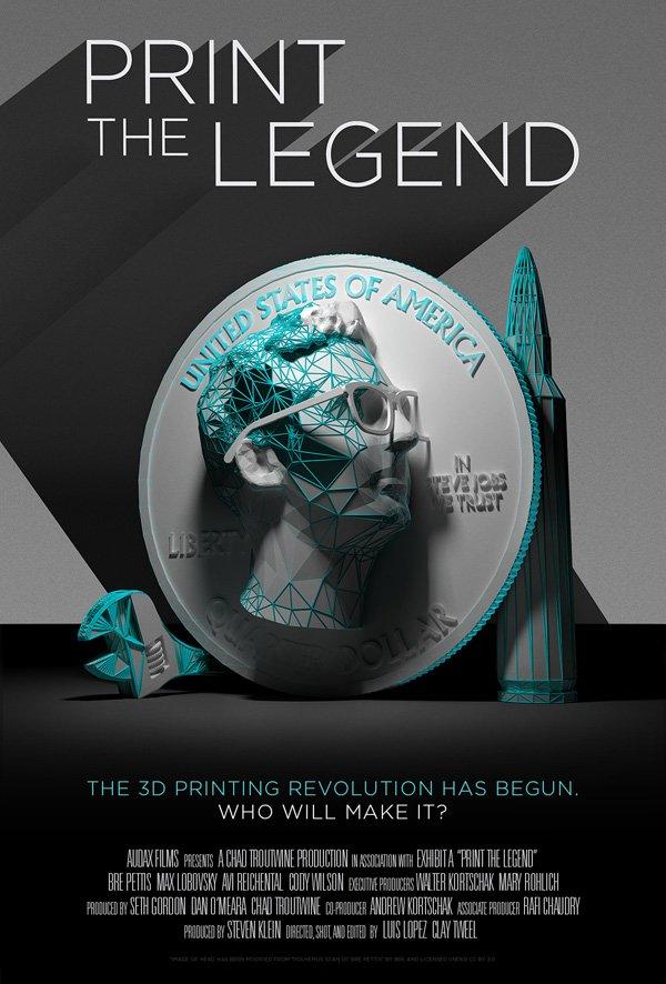 Print the Legend Promo Poster