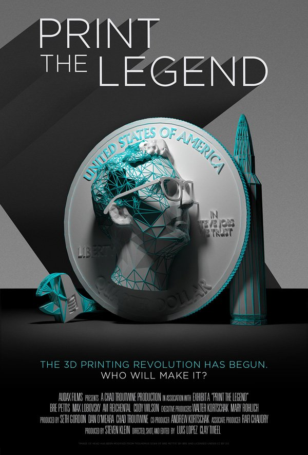 Print the Legend Promo Poster