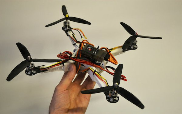 3D-printed-parts-for-quad-copter at TCT Show 3DPrintuk.jpg