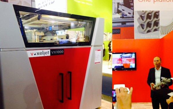 Voxeljet Homepage