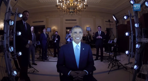 Barack Obama Behind the Scenes