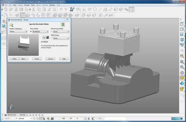 Delcam PowerSHAPE direct modelling
