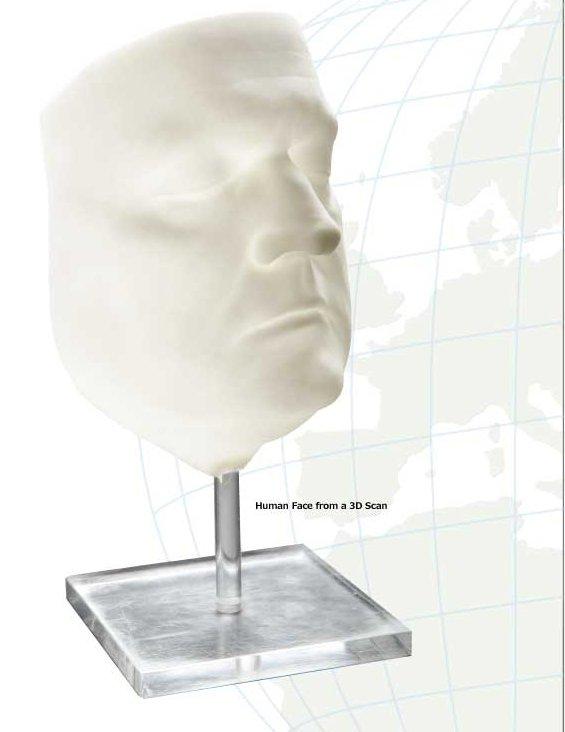 3D Printed Human Face