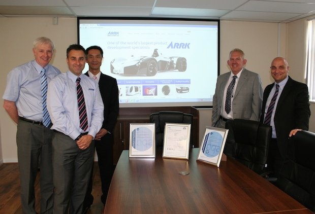ARRK Aerospace Accreditation
