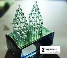 3D Printed Earings