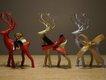 Holiday Christmas Deer – yeg3d