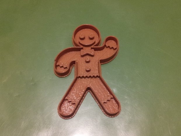 Gingerbread Man Cookie Cutter - Microsoft